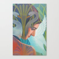 nouveau Canvas Prints featuring Nouveau by Patrick soper