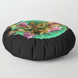 Halloween Pennant Dragonfly Floor Pillow