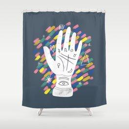 Palmistry Shower Curtain