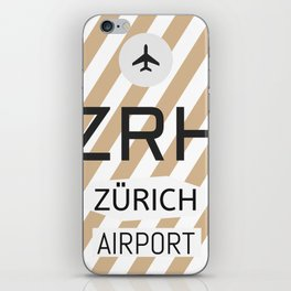 ZRH Alpine Chocolade iPhone Skin
