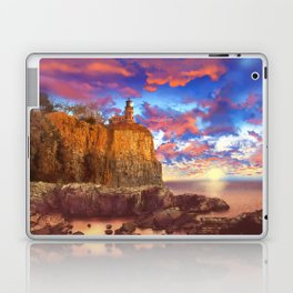 lighthouse landscape Laptop & iPad Skin