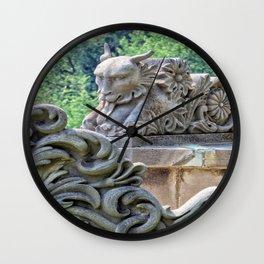 Devils Heart Wall Clock
