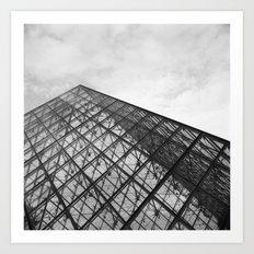 Louvre 2 Art Print