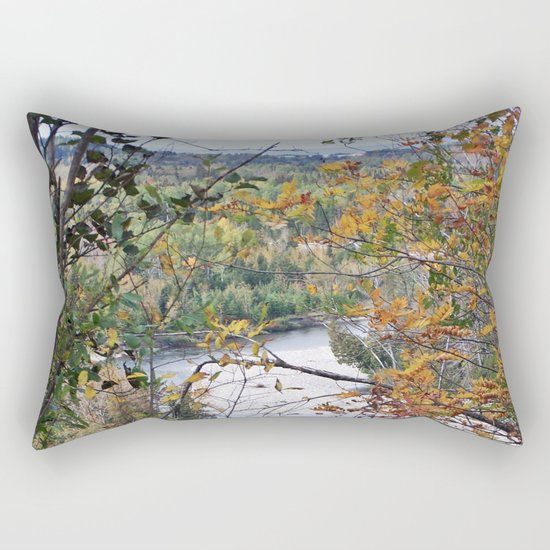 From the Forest to the Sea Rectangular Pillow