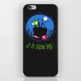 Let The Invasion Begin ! iPhone Skin