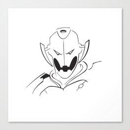 Ultron minimalist portrait Canvas Print