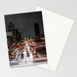 Taxi Trails Stationery Cards