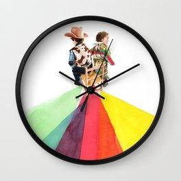 Pau siusplau Wall Clock