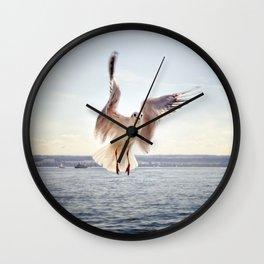 Winging It Wall Clock