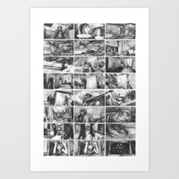jurassic park Art Prints featuring Jurassic Park by trallalaura