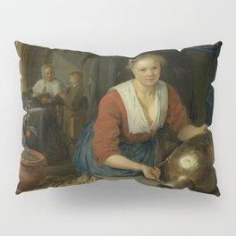 "Gerard Dou ""Maid at the Window"" Pillow Sham"