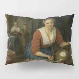 "Gerard Dou ""Maid at the Window"" Pillow Sham"