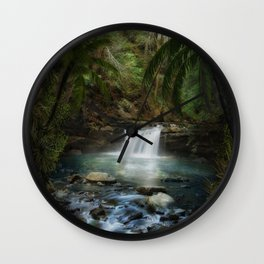 The Jungle 2 Wall Clock