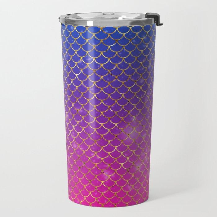 Mermaid Stars Travel Mug