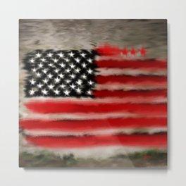 The Flag Metal Print