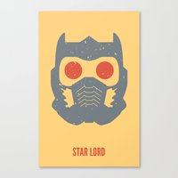 star lord Canvas Prints featuring Star-Lord by d00d it's jake