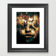 Blind Fate Framed Art Print