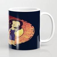 firefly Mugs featuring Firefly by Keri Lynne