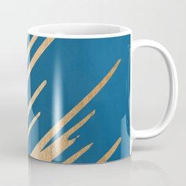 Swish - Orange Sherbet Shimmer on Saltwater Taffy Teal Coffee Mug