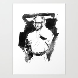 Star Wars - Luke Skywalker Art Print