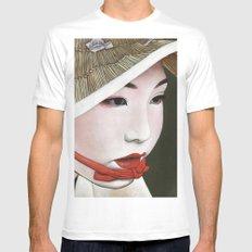 Geisha Mens Fitted Tee White MEDIUM