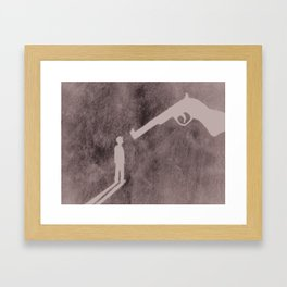 The Belly of the Beast Framed Art Print