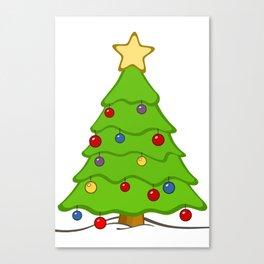Xmass tree Canvas Print