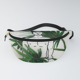 """Embroidery art """"Palm"""" printed/ Gay art Fanny Pack"""