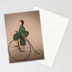Victorian Biker Stationery Cards