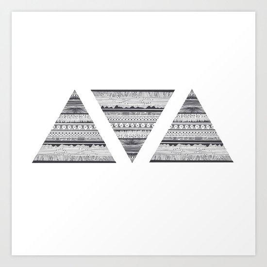 Triáng Art Print