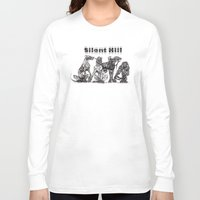 silent hill Long Sleeve T-shirts featuring Silent Hill Hellhounds by nightriot