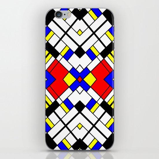 Mondrian-ish. iPhone & iPod Skin