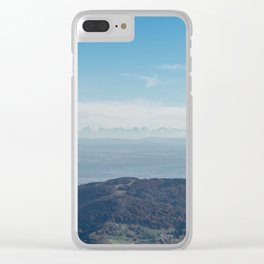 View at the Alps Clear iPhone Case