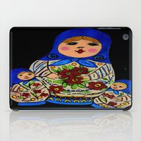 russian iPad Cases featuring Russian dolls by maggs326