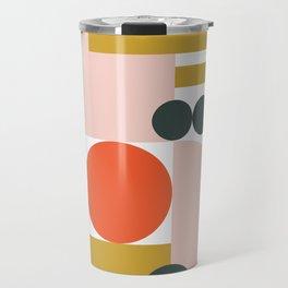 MidMod Shapes Blush Travel Mug