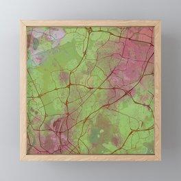 Helsinki Finland Street Green Planet Framed Mini Art Print