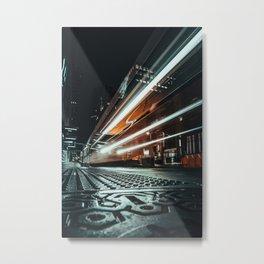 City Beams Metal Print