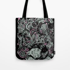 Irregular Sleeping Pattern Tote Bag