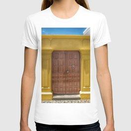 Old door in Greece T-shirt