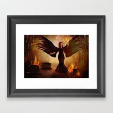 Embrace the Fire Within Framed Art Print