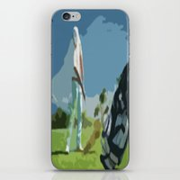 golf iPhone & iPod Skins featuring GOLF by aztosaha