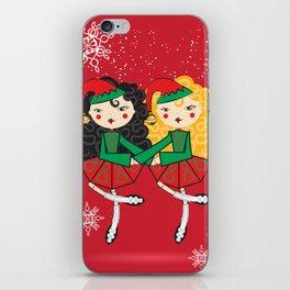 Lil Dancer '2 Hand Elves' iPhone Skin