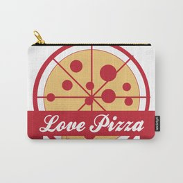 Love Pizza pizzaria Carry-All Pouch