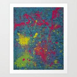 Fluorescent Dream Art Print