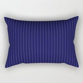 Fuck You Pinstripe Rectangular Pillow
