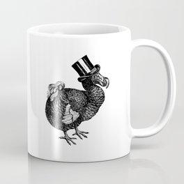Mr Dodo | Dodo Bird | Extinct Birds | Black and White | Coffee Mug