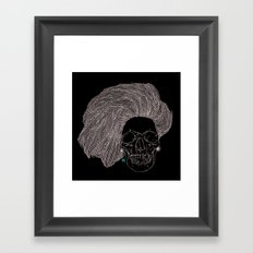 She is CHANEL Framed Art Print