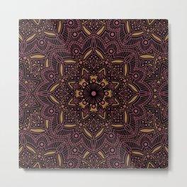 Mandala Collection 13 Metal Print