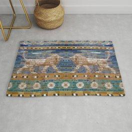 Lion Mosaic Rug