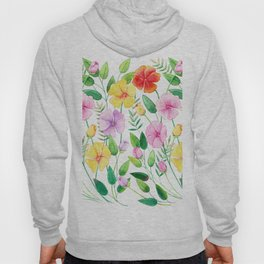 Flowers (collage) Hoody